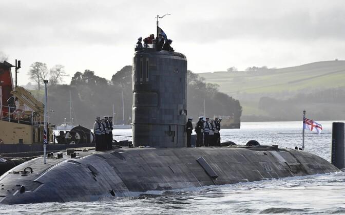 Британская подводная лодка.