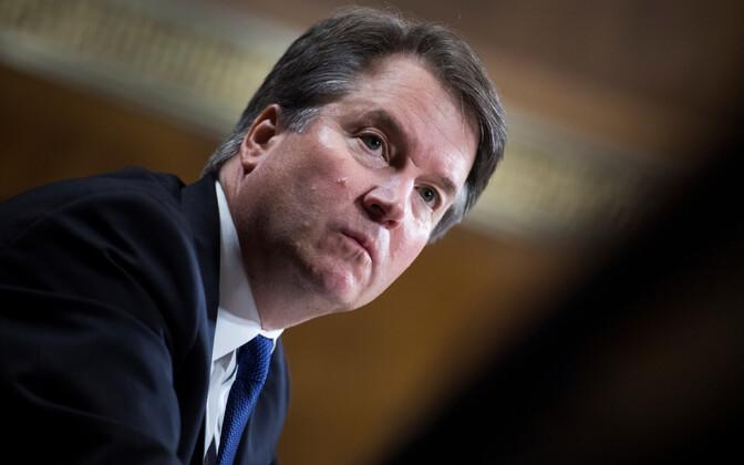 USA ülemkohtu kohtuniku kandidaat Brett Kavanaugh.