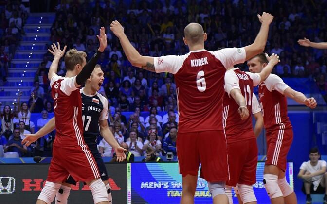 Poola võrkpallikoondis krooniti maailmameistriks