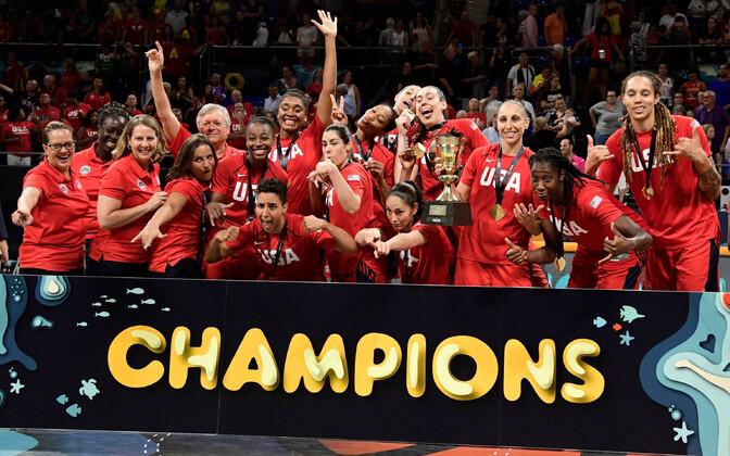 USA naiste korvpallikoondis
