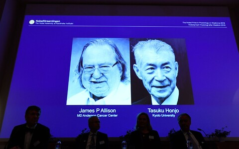 James P. Allison ja Tasuku Honjo.