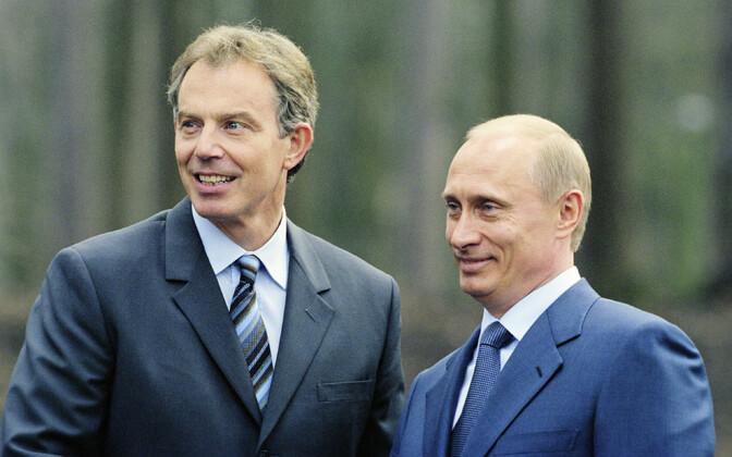 Briti peaminister Tony Blair ja (siis juba) Venemaa president Vladimir Putin 2003. aastal.
