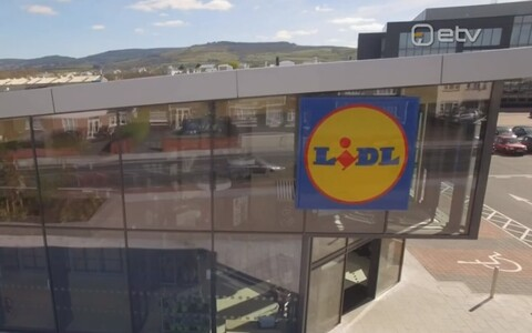 Lidl store.
