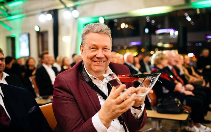 Muusikapäeva auhindade jagamine Tallinna lennujaamas