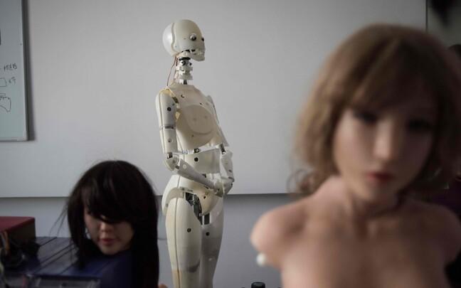 Bordellis töötavad robotid tõotavad vähendada inimkaubandusega seotud probleeme.