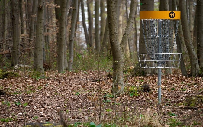 Диск-гольф – развивающийся и набирающий популярность вид спорта в Эстонии