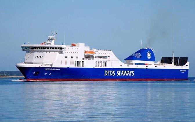 Паром Regina Seaways (архивное фото).