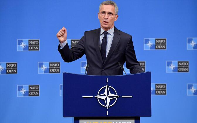 NATO peasekretär Jens Stoltenberg.