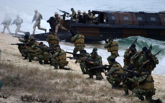Trident Juncture 2015.