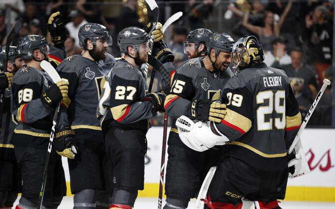 Viimati sai NHL täiendust Vegas Golden Knightsi näol