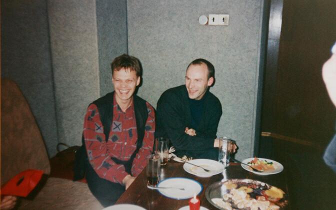 Indrek Treufeldt ja Erik Samel