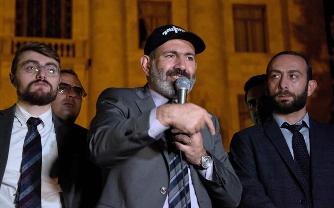 Armeenia peaminister Nikol Pašinjan.