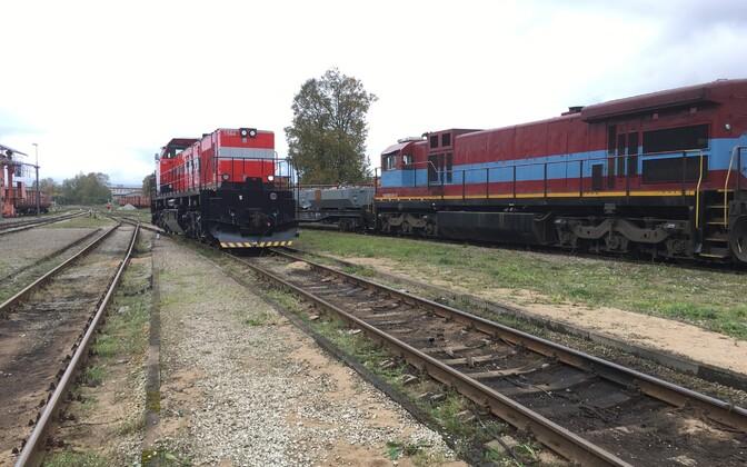 Локомотив C30-M, перестроенный в депо Тапа.