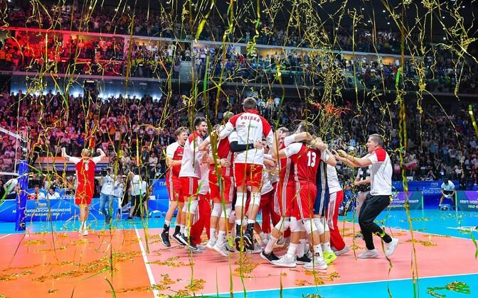 2018. aasta võrkpalli maailmameistriks tuli Poola