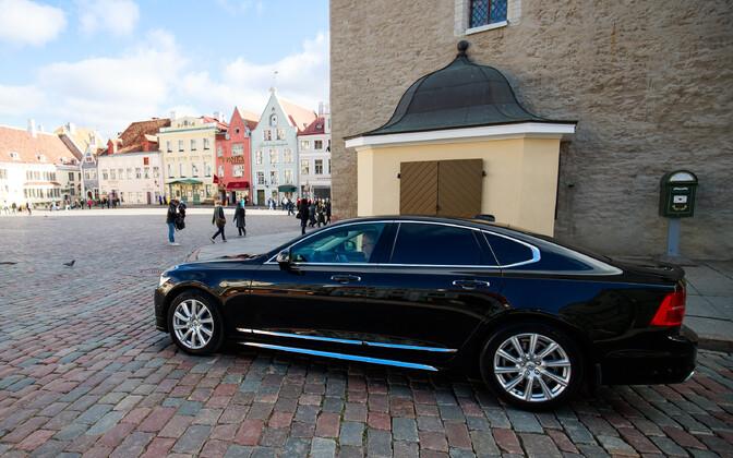 Служебный автомобиль мэра Таллинна.