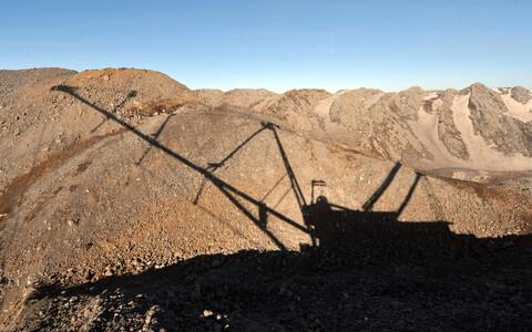 Põlevkivi kaevandamine, arhiivifoto.