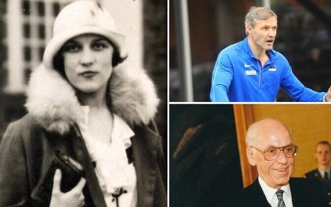 Betti Alver, Lennart Meri, Erki Nool