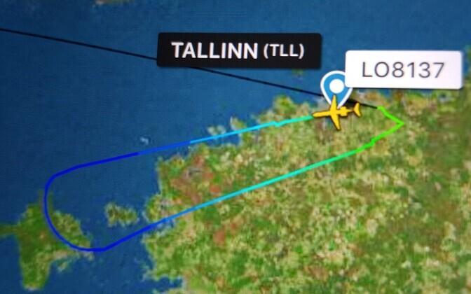 Nordica flight LO8137.
