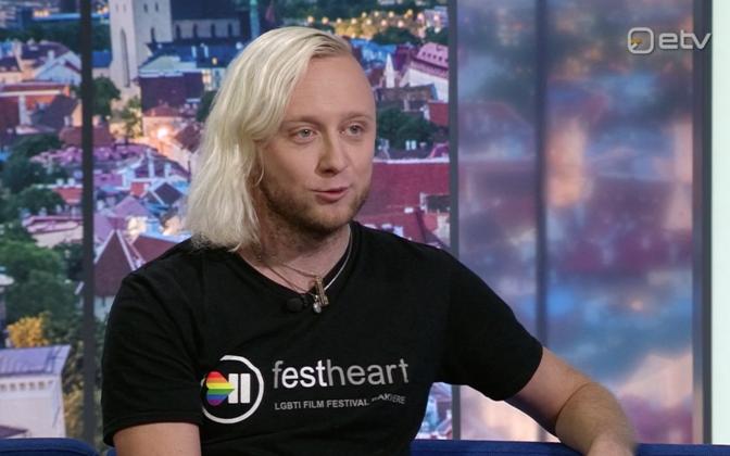 Организатор ЛГБТ-кинофестиваля Кейо Соомельт.