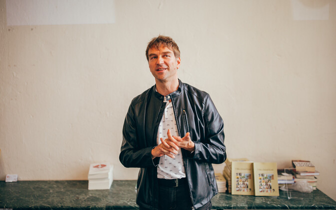 Valdur Mikita is an Estonian author who will be appearing at the Turku Book Fair.