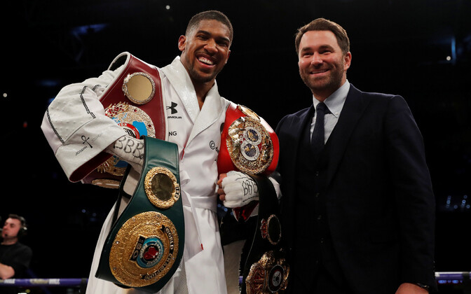 Anthony Joshua ja Eddie Hearn