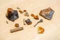 На стройплощадке на улице Маакри обнаружено множество предметов старины.