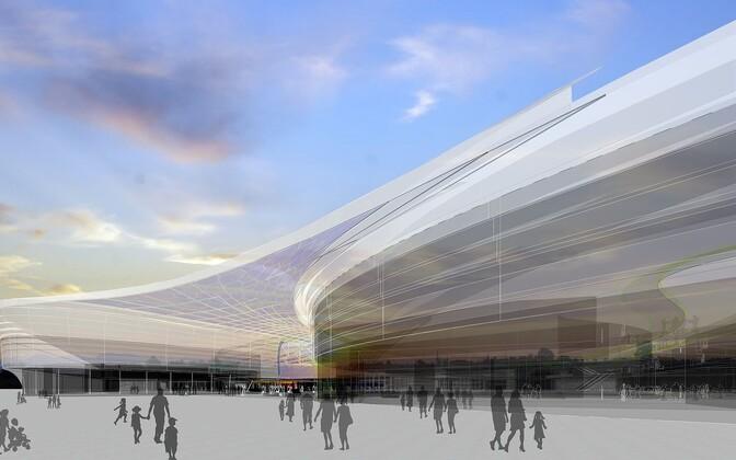 Проект торгового центра Tallink City.