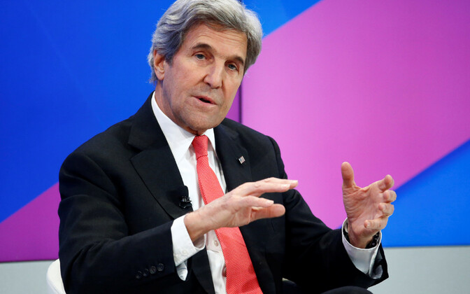 USA endine välisminister John Kerry.