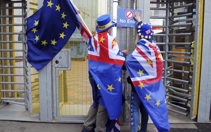 Противники выхода Великобритании из ЕС.