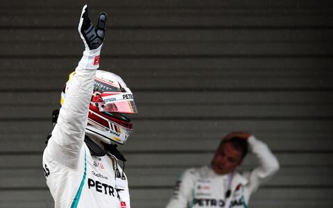 Lewis Hamilton oli Jaapani GP-l kiireim ka kvalifikatsioonis