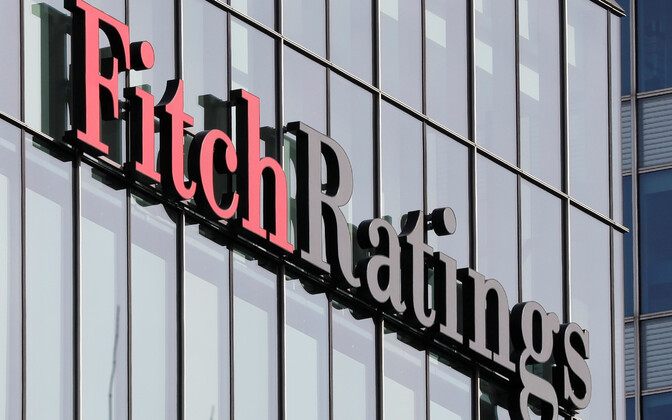 Fitch raised Estonia's credit ratings to AA-.