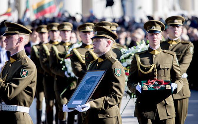Adolfas Ramanauskas-Vanagase matused