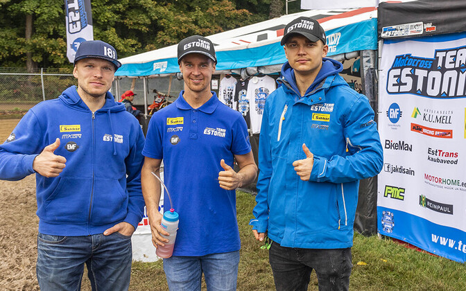 Fotol (vasakult) Tanel Leok, Harri Kullas ja Hardi Roosiorg.