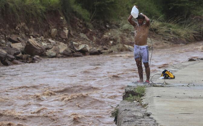 Ливни в Гондурасе.