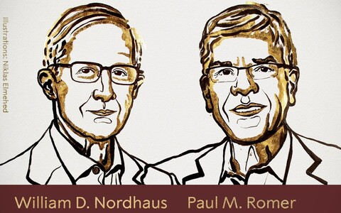 William Nordhaus ja Paul Romer.