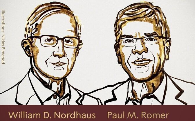Уильям Нордхаус и Пол Ромер.