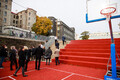 Открытие нового спорткомплекса Французского лицея в Таллинне.