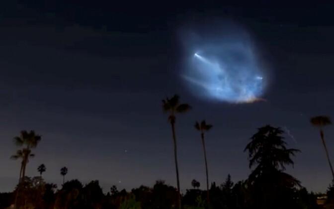 SpaceX Маска успешно запустила новую ракету.