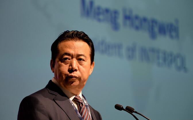 Meng Hongwei 2017. aasta juulis.