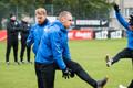 Тренировка сборной Эстонии по футболу