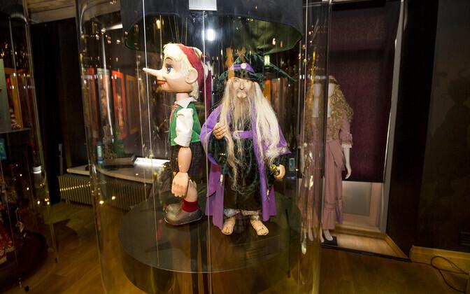 Teatrinukud NUKU muuseumis Tallinnas
