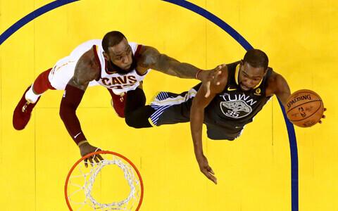 LeBron James ja Kevin Durant