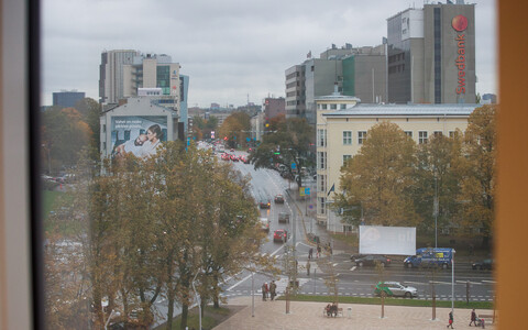 Вид на Таллинн из суперминистерства.