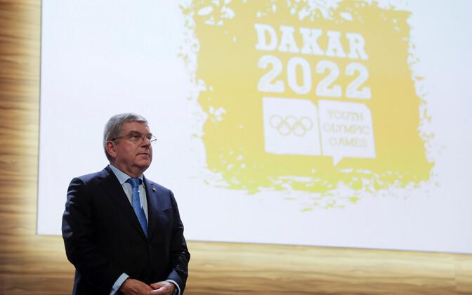Rahvusvahelise olümpiakomitee president Thomas Bach