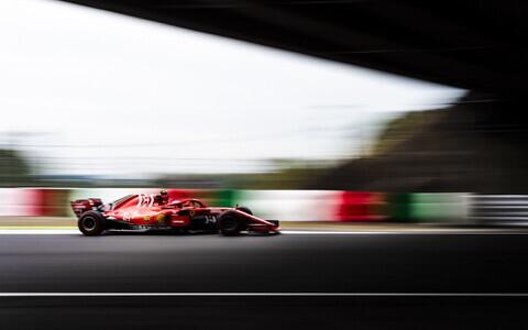 Ferrari vormeli uus disain
