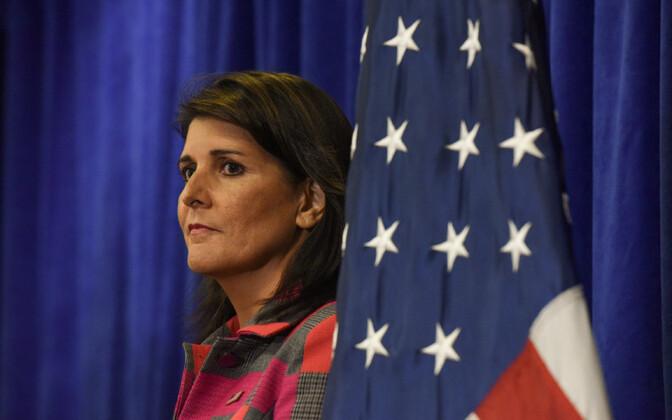 Постпред США при ООН Никки Хейли подала в отставку.