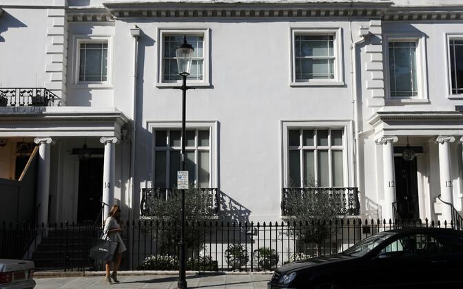 Zamira Hajiyevale kuuluv maja Londonis Mayfairi linnaosas.