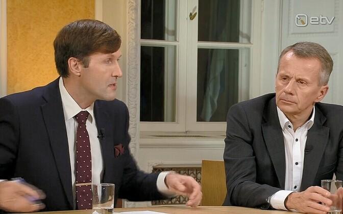 Мартин Хельме (слева) и Юрген Лиги.