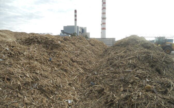 Балтийская электростанция.