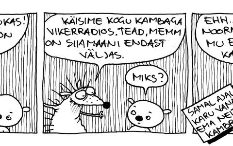 Koomiks Vikerraadiole